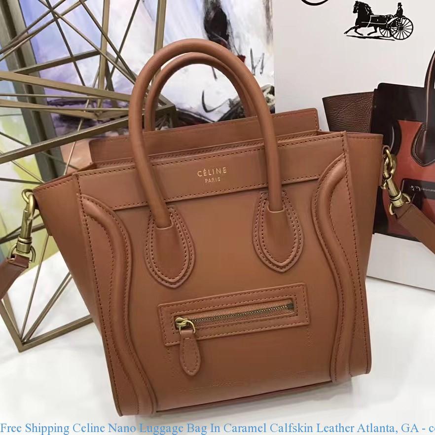 Free Shipping Celine Nano Luggage Bag