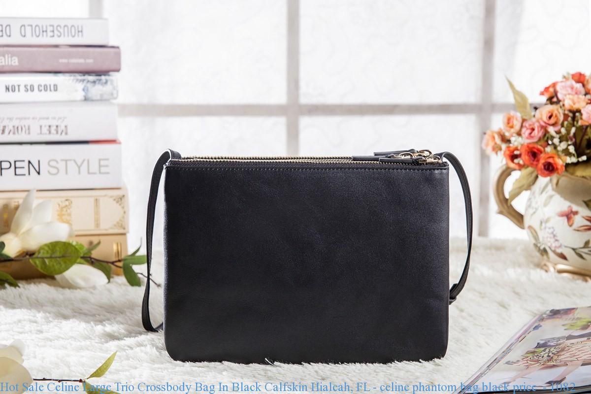 Crossbody Bag In Black Calfskin Hialeah
